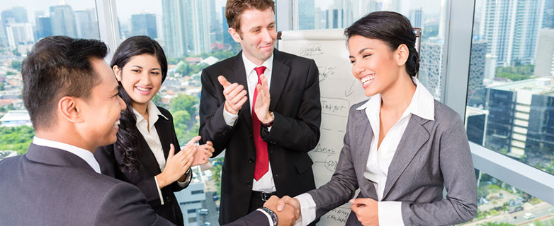 33785846 - business team applause in meeting